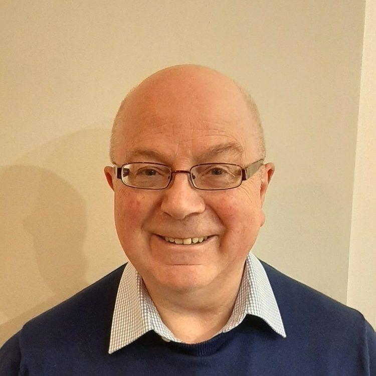 Headshot of Brian Simpson, charity trustee