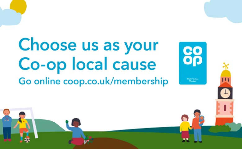 Co-op local cause banner