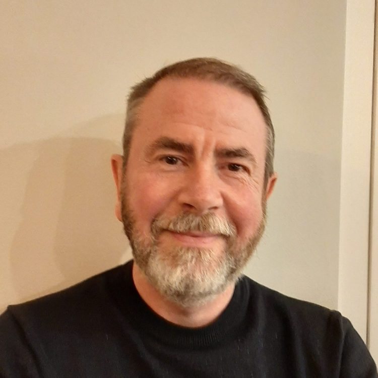 Headshot of Keith Bennett, charity trustee