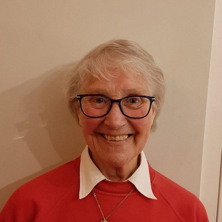 Headshot of Mary Drury, charity trustee